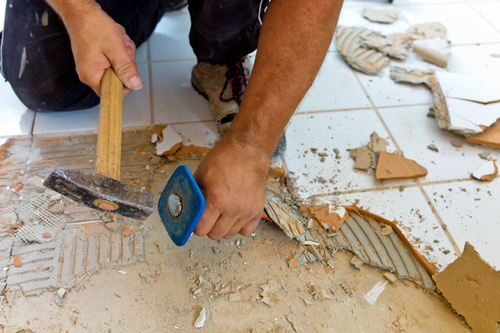 Home Flooring Removal Services in South Florida | Dustbusters Floor Removal