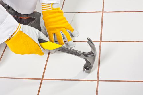 DIY tile removal